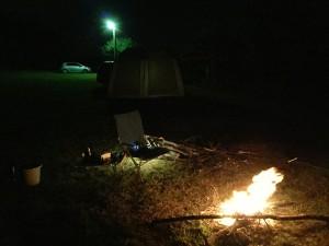 キャンプ④